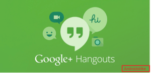 Googlr HAngouts for Android