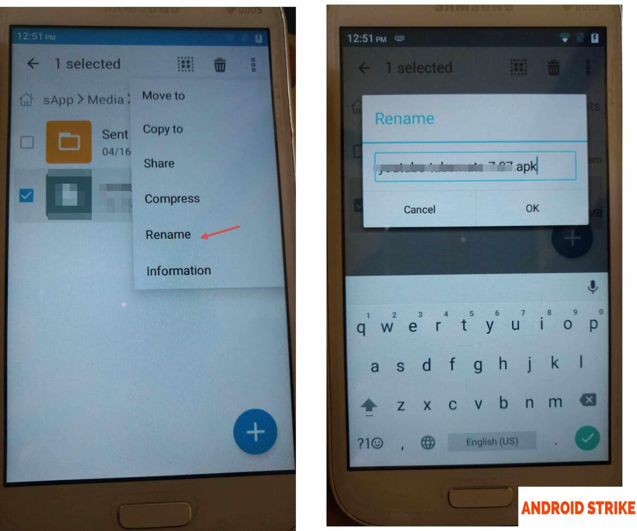 Send App or Games through WhatsApp