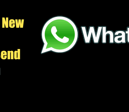Whatsapp new update let's you send apps from whatsapp
