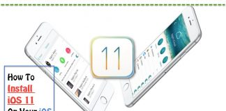 How To Install iOS 11 on ios device without losing data