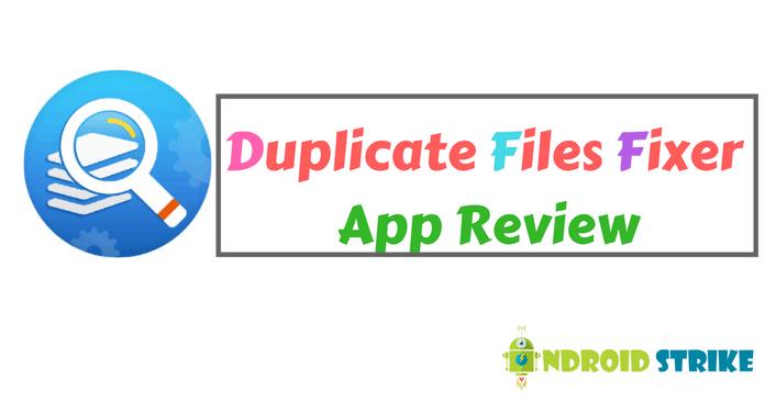 Duplicate Files Fixer Review