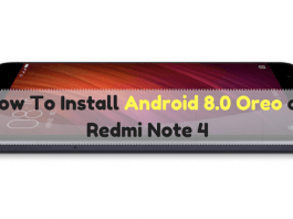 install android 8.0 oreo on redmi note 4