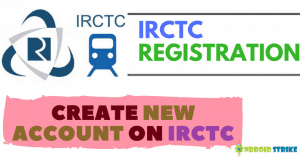 create irctc new account