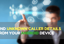 unknown caller details