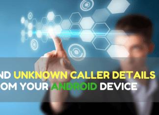 unknown caller details