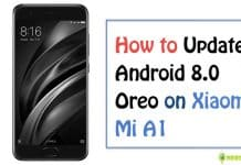 update xiaomi Mi A1 to Android 8.0 Oreo