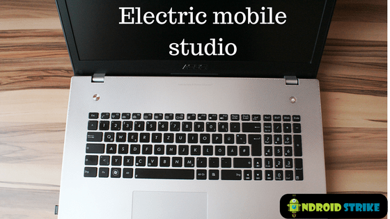 Electric mobile studio