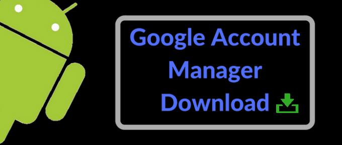 Google Account Manager APK Download 2018 Version