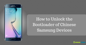 How to Unlock Bootloader of Chinese Samsung Devices Using CROM