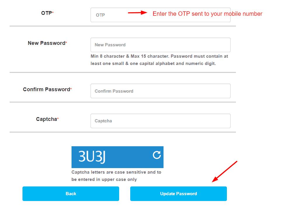recover irctc password
