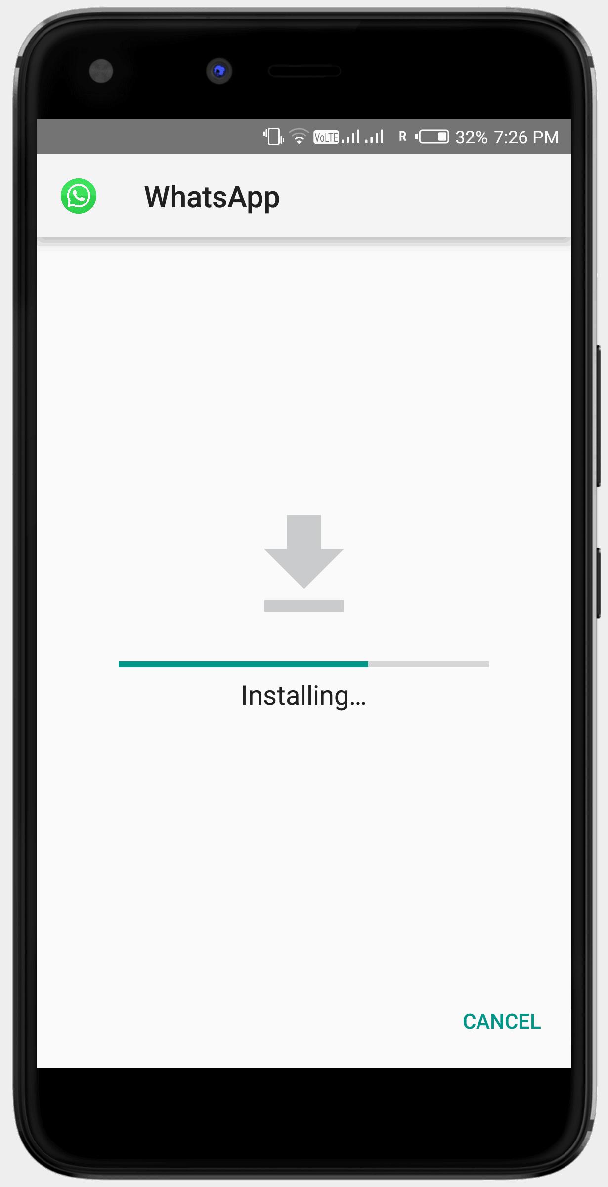 GBWhatsapp installation