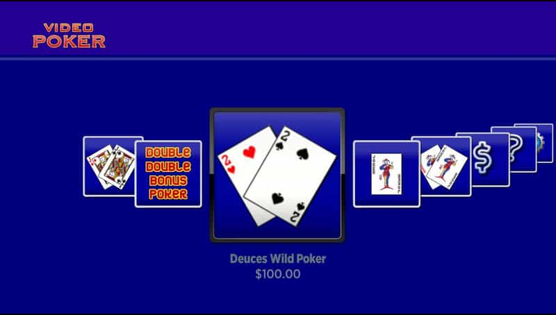 video poker roku