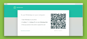 Whatsapp web on pc