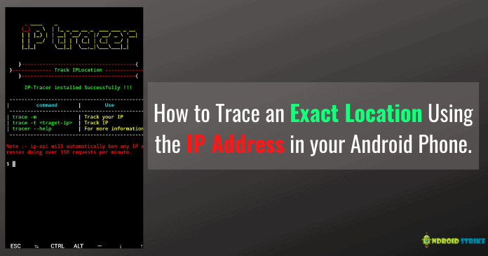 Trace Exact Location Using IP Address on Android